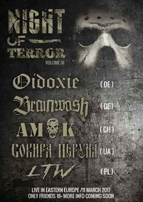 11 березня. Night of terror. Volume III. Live in Eastern Europe